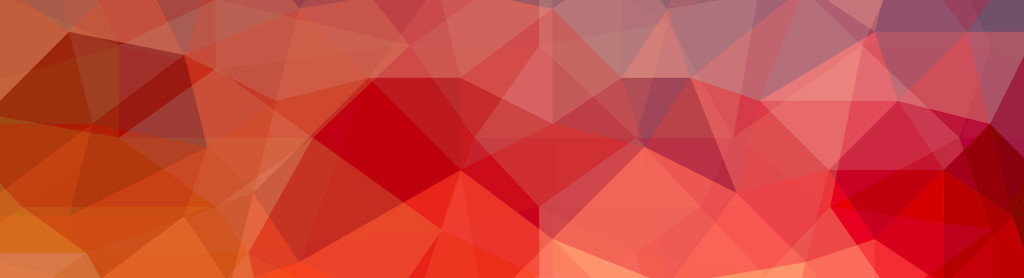 abstract low poly background made of triangles